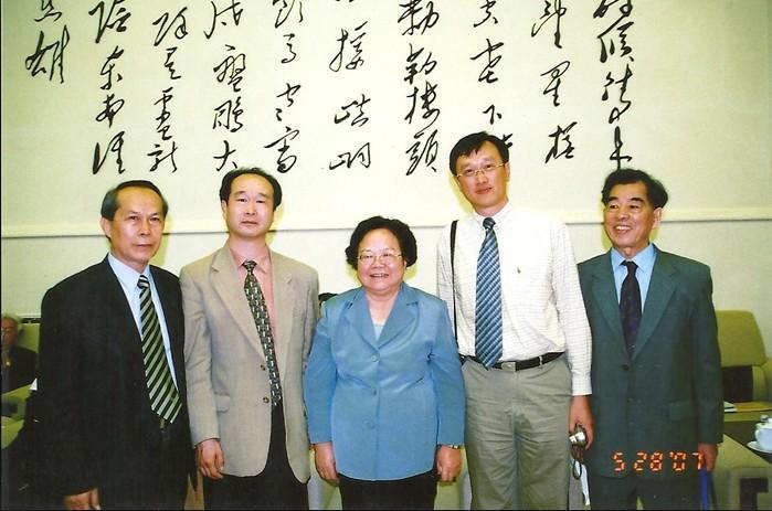 全国人大副委员长彭佩云同志与我